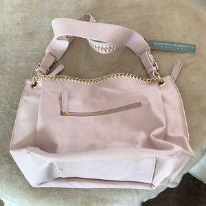 Pale pink designer bag